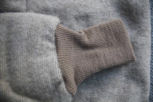 ecef5b761ef5 Cosilana wool fleece pants light brown melange - Engelchen flieg