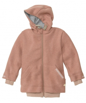 Disana Kinder Outdoor-Walkjacke Rose