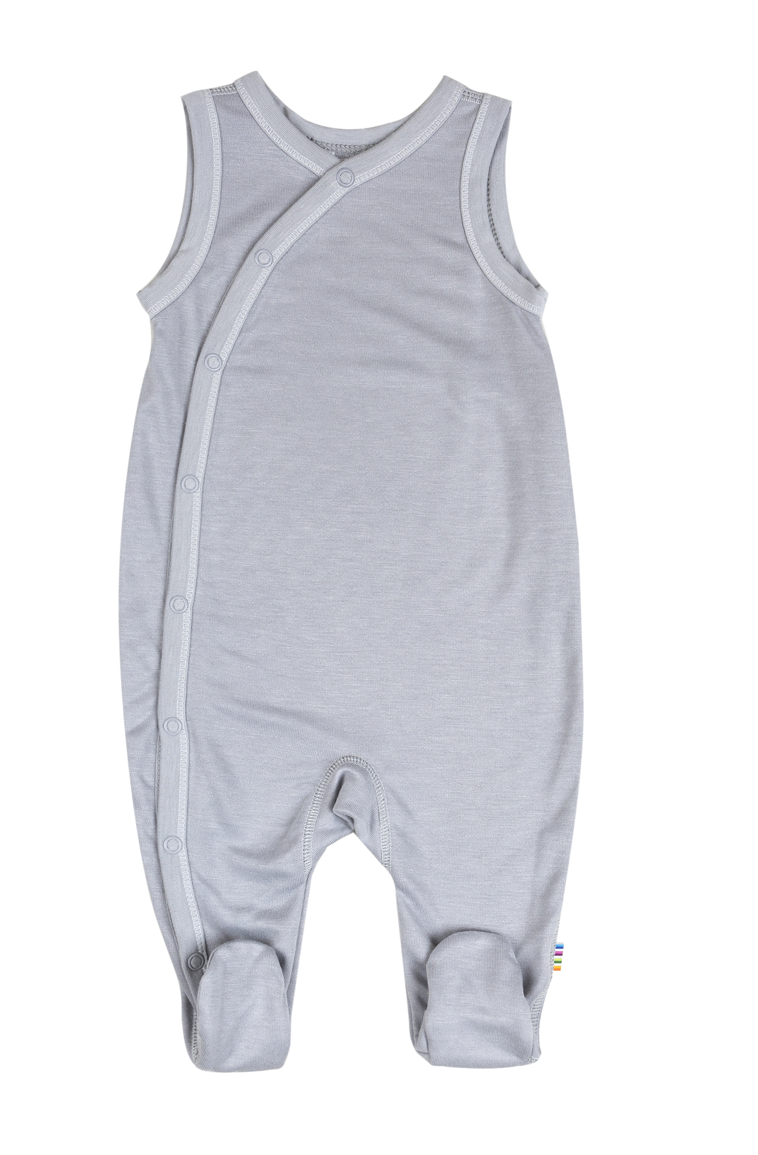 Joha romper bamboo light grey Engelchen flieg