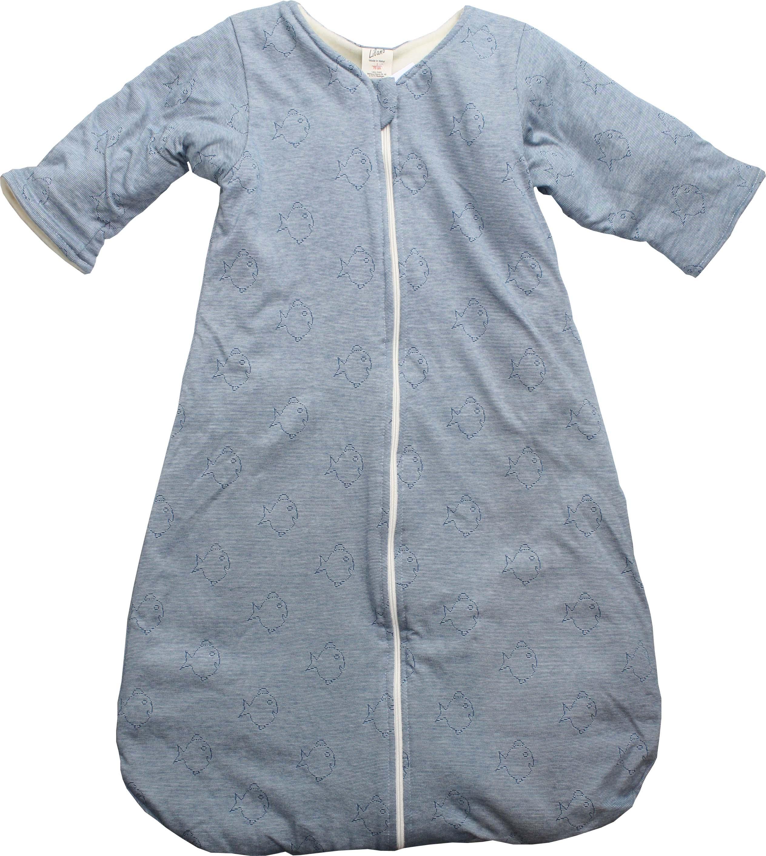 lilano winter schlafsack mit arm nemo blau engelchen flieg. Black Bedroom Furniture Sets. Home Design Ideas