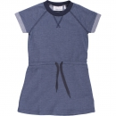 Green Cotton denim stretch dress baby summer