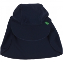 Green Cotton UV-Schutz Sonnenhut Navy