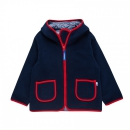 Finkid Fleecejacke Tonttu Navy/Red
