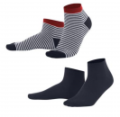 living crafts Sneaker-Socken 2-er Pack Navy