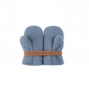 Wollfleece Handschuhe / Fäustel Dusty Blue