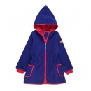 Finkid Fleecejacke Neilikka Ink/Cherry