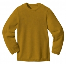 Disana Basic Pullover Schurwolle Gold