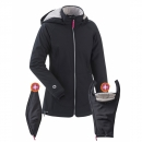 Mamalila Softshelljacke schwarz - Sonderedition Winter