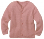 Disana Kinder Strickjacke Schurwolle Rose