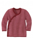 Disana Melange Wickeljacke Bordeaux/Rose