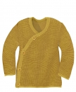 Disana Melange Wickeljacke Curry/Gold